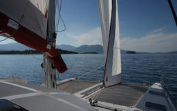 Sailing boat rental with skipper